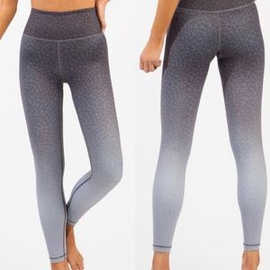 Zyia Active ombré light n tight leopard legging 4